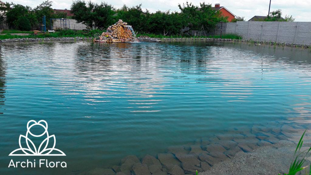 Просчитать большой пруд в Харькове - цена пруда