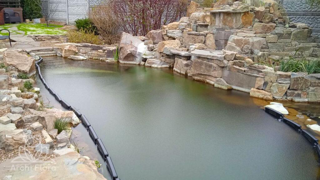 Поплавки для пруда с биоплато